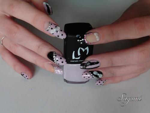 Nail Art 3D Inspiration Japonaise