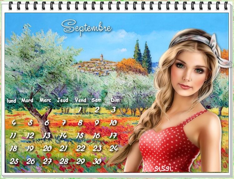* Calendrier Septembre *
