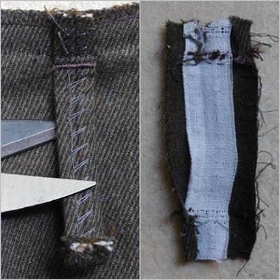 Autopsie d'un pantalon masculin (2)