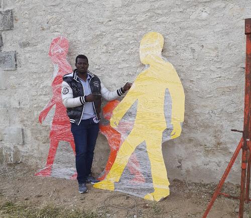 événement N°3 des 40 ans : inauguration d'une sculpture murale