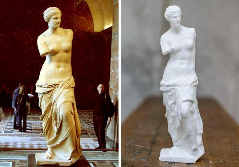 8000 sculptures célèbres disponibles en 3D pour votre imprimante 3D !