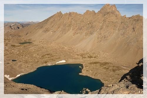 L'Ubaye et ses lacs... : Lauzanier, Oronaye, Roburent