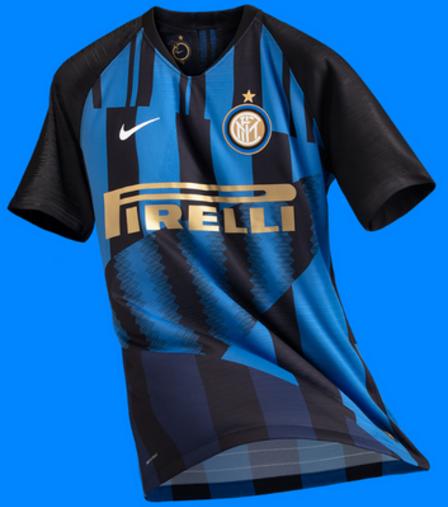 Inter porte le maillot mashup 10 pièces dans le derby de Milan