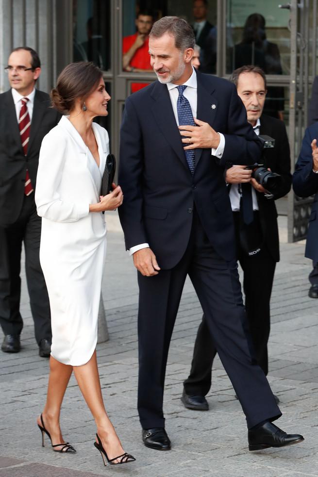 Felipe et Letizia à l'opéra
