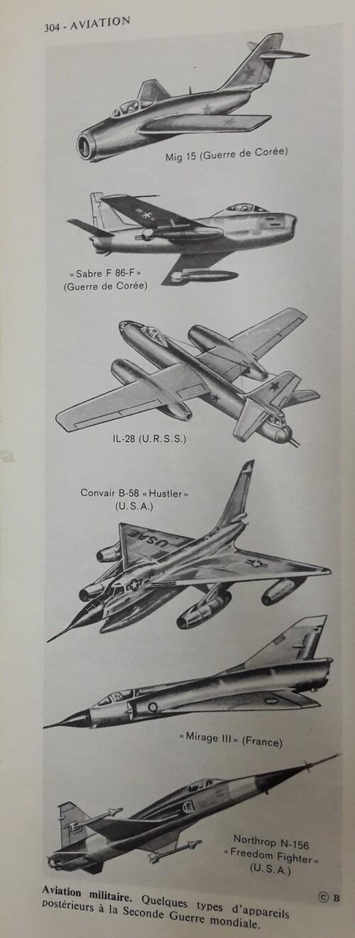 Des avions militaires