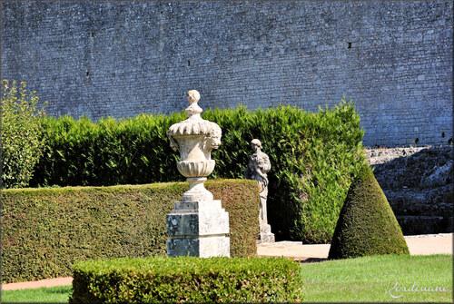 Photos château de la Roche-Courbon - le parc