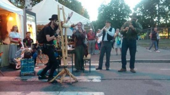 Les Sonneurs Tchok au Festival Interceltique de Lorient 2015