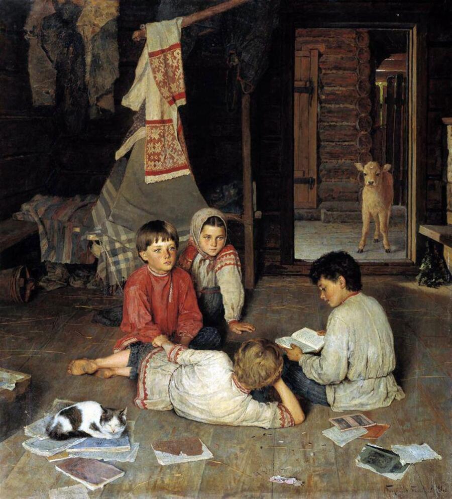 nicolas Bogdanov-Belski ( 1868 -1945)/portraitiste du quotidien