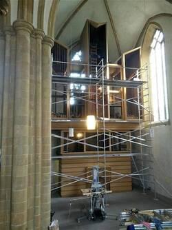 Un nouvel orgue à Enghien
