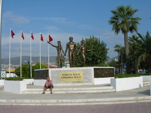 Direction la mer Egée et le site de Pamukkale