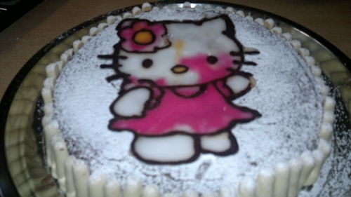 Gateau hello kitty!!