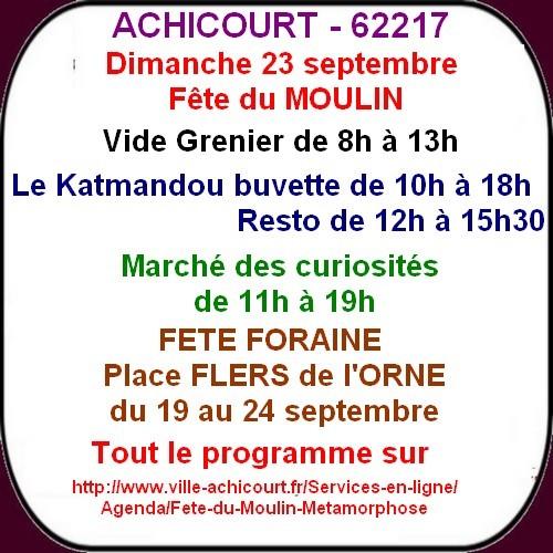 Fete du Moulin, Salon de l'habitat, du bien être et brocantes ce week-end à ARRAS et ses environs;