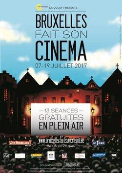 Affiche Bruxelles fait son cinéma