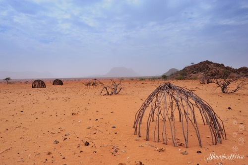 Himba villages