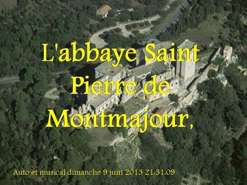 PPS MES CREATIONS L'abbaye Saint Pierre de Montmajour,