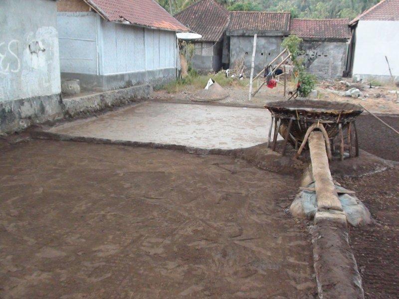 Lundi 10 Octobre 2011 - Retour Ubud - Temple aux Chauve- souris (Goa Lawah) - Rizières Ubud.