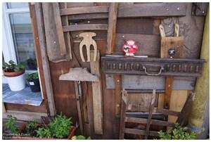 Maison d'objets en bois à Paimboeuf