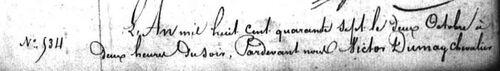 Bader Pierre Henri Naissance