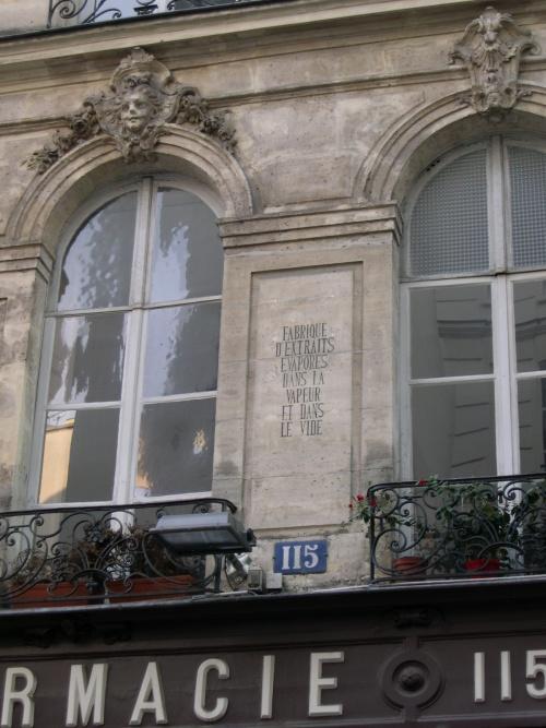 rue St-Honoré vapeur vide