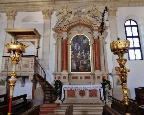 La splendide église de Piran en Slovénie (photos)