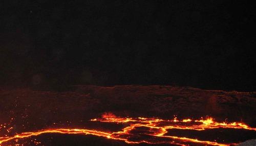 Volcans et les petites choses que nous sommes