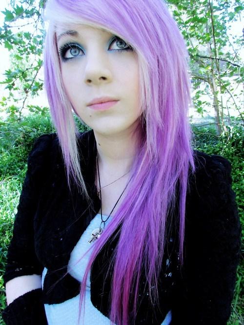 <3 Lilac hair <3