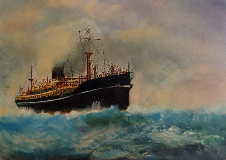 bateau de tourisme
