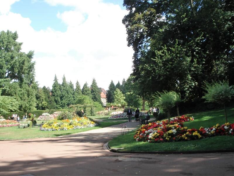 Jardin public Saint Omer.