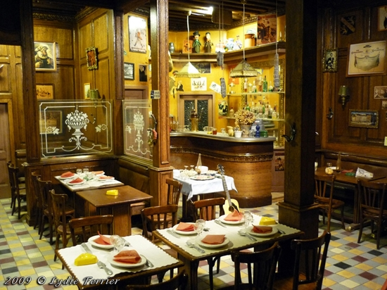 2009 Restaurant miniature