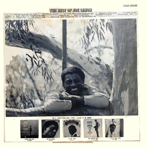 "Joe Simon : Album "" The Best Of Joe Simon "" Sound Stage 7 Records SSS-15009 [ US ]"