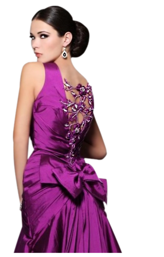 Femmes en Violet-Mauve Série 10