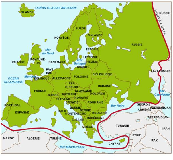 Carte De Leurope A Trou.L Europe Un Continent Entre Unite Et Diversite Jmgoglin