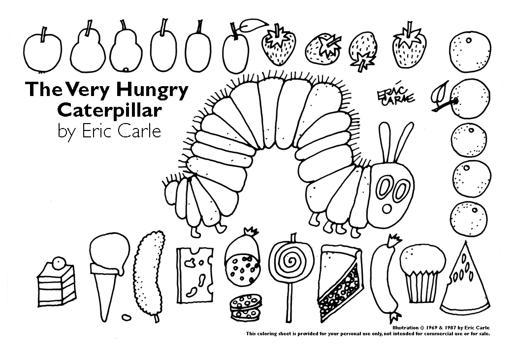 The very hungry caterpillar Days