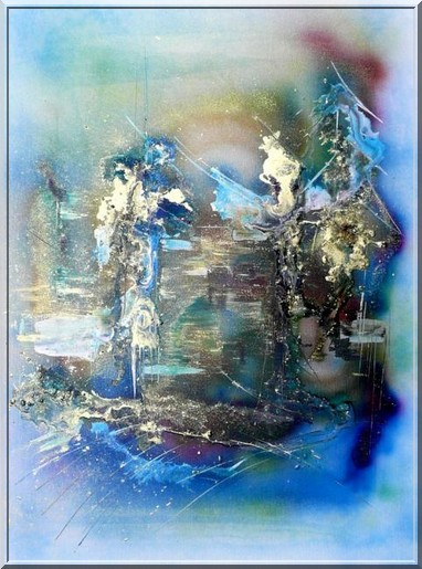 Le pays bleu(sonnet alterné)