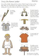 "Dress the Roman Soldier pdf download. Click on the link ""Dress the Roman Soldier""    #romans  #homeschool"