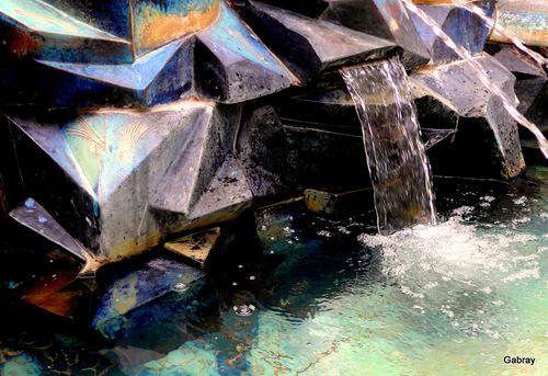 Céret : la fontaine Picasso ... n 2