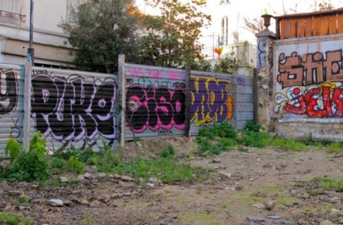 démolition théâtre Ermitage street-art 0
