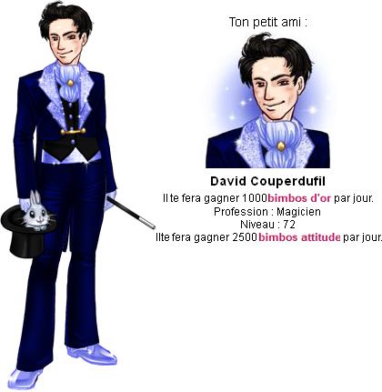 Niveau 72 : David Couperdufil