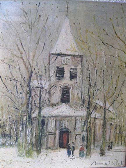 Utrillo et Saint Vorles