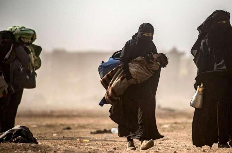 Des enfants de djihadistes rapatriés en France