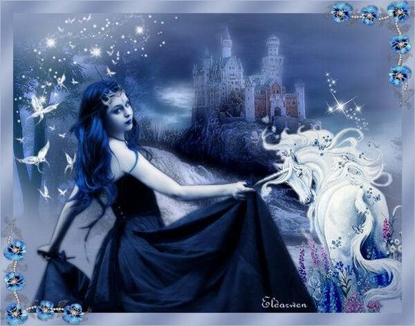 Ma féerie en bleue