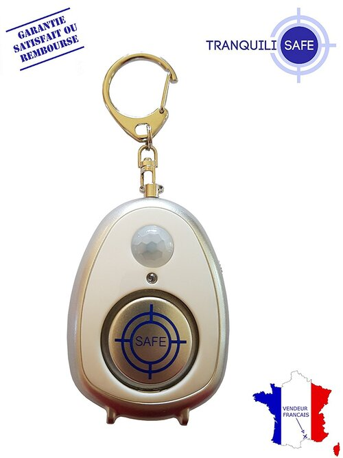 TRANQUILISAFE® Alarme  anti agression et antivol