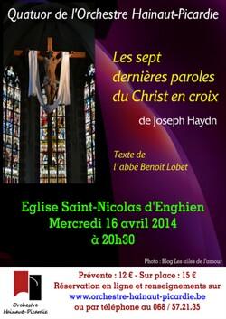 Enghien - Concert du 16 avril 2014 - Eglise Saint-Nicolas