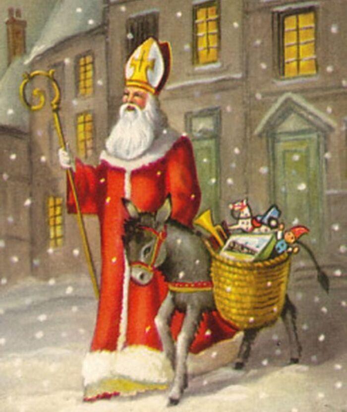 Bonne Fête de saint Nicolas.