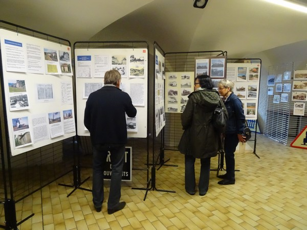 Vernissage de l'exposition sur l'arrivée du train à Châtillon sur Seine