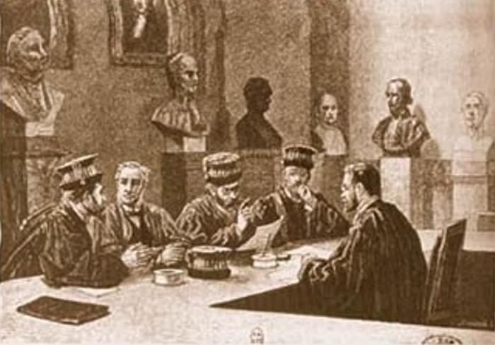 La notation par boules dans les Facultés de Droit