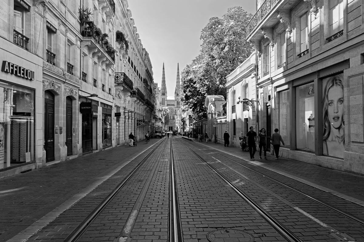 Bordeaux Suivez le rail