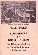 * Etape n° 41 - 27/31 Janvier 1945 : 1ère D.F.L. et 2ème D.B. à GRUSSENHEIM