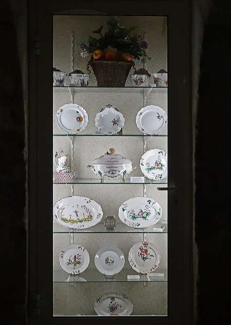 Le musée de la faïencerie à Ancy le Franc