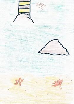 """Océan"" par Bérénice et par Calvin"